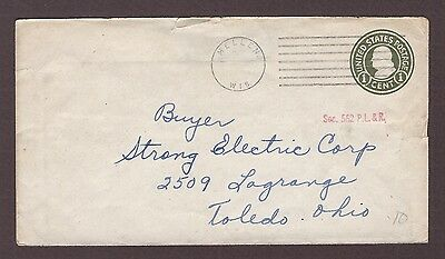mjstampshobby 1915 US Vintage Cover Used (Lot4817)