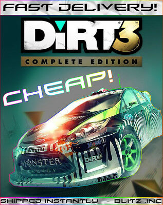 DiRT 3 Complete Edition Steam Key [INSTANT CODE - GLOBAL] *CHEAPEST*