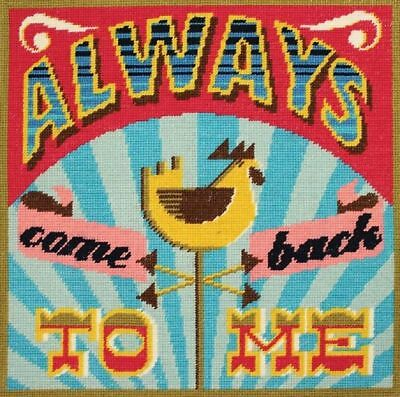 DMC Homespun Always Come Back to Me Printed Tapestry Cushion Front Kit