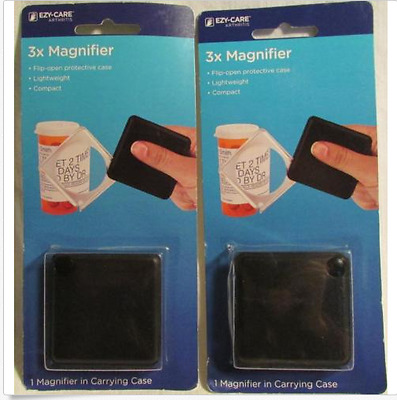 pack of 2 EZY-Care Arthritis, 3x Magnifier,   -  New