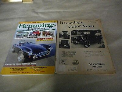 Hemings Motor News September,1969  May 2012  Collector Car Market   Vintage