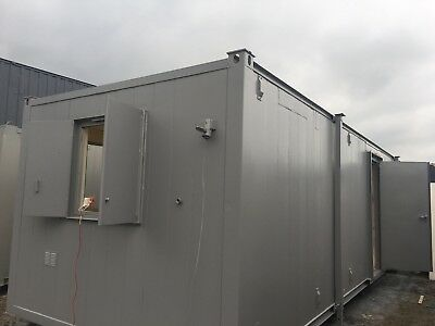 32ft x10 ft Anti Vandal Double toilet/ Office Site /Canteen Container