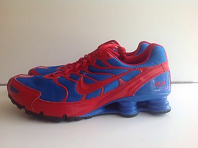 info for 6ba47 3a227 ... reduced mens nike shox turbo vi id all blue red sz 14 326840 a79cd faf3e