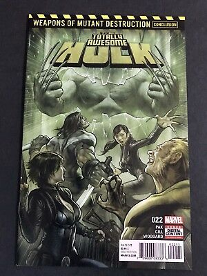The Totally Awesome Hulk #22 Marvel Comics (2017) 1st App Weapon H 1st Print NM