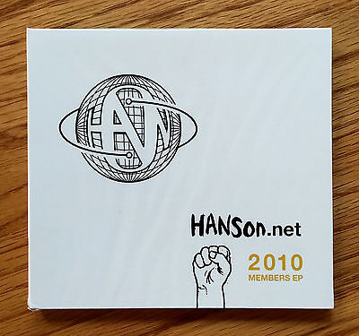 HANSON - Hanson.net CD (Exclusive 2010 Member EP) ***BRAND NEW***