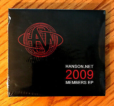 HANSON - Hanson.net CD (Exclusive 2009 Member EP) ***BRAND NEW***