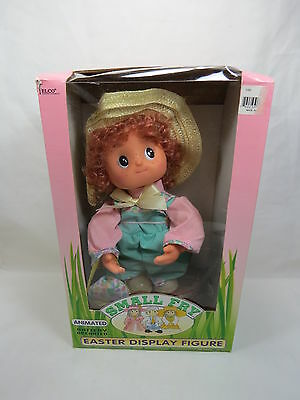 Vintage Telco Small Fry Easter Display Figure in Box Boy w/ Hat As Is Rare! S3 3