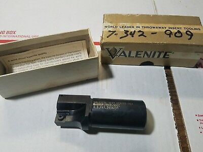 "Valenite 1-1/4"" Indexable Insert Endmill s-VMSP-150R-90CC New Old Stock nice"