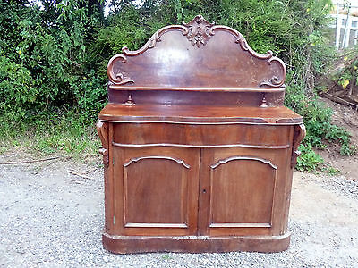 Magnificent Original Victorian Sideboard /chiffonier-Needs Some Restoration