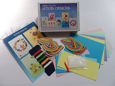 Quilling Card Kit - Autumn
