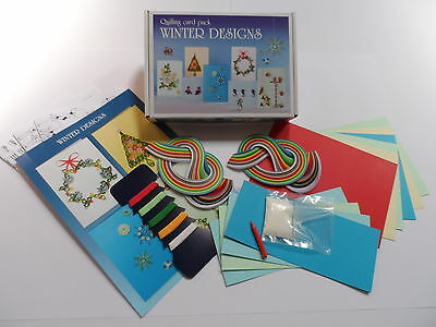 Quilling Card Kit - Winter