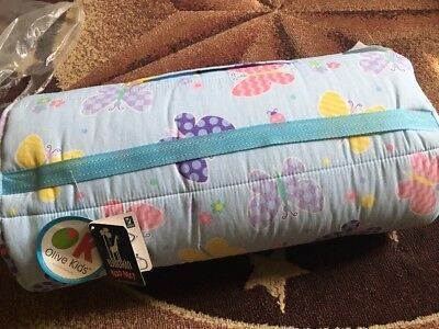 Wildkin Olive Kids Butterfly Garden Nap Mat 28113 Kids Nap Mat Light Blue