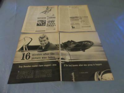 Troy Donahue   vintage clipping  #48