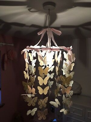 girls vertbaudet butterfly light shade
