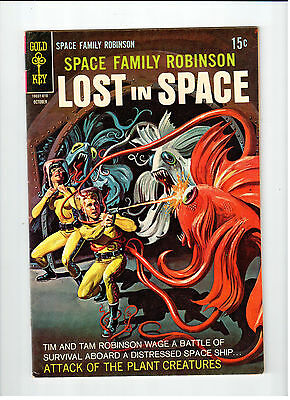Gold Key SPACE FAMILY ROBINSON LOST IN SPACE #30 Oct 1968 vintage comic