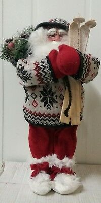 New Christmas Santa Standing Ornament