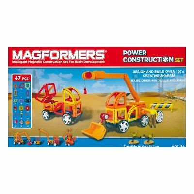 MAGFORMERS Power Construction Set 47