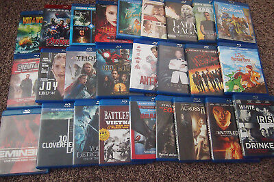 Assorted Blu-Ray Movies (Disc in Good Playing Condition, Free U.S. Shipping)