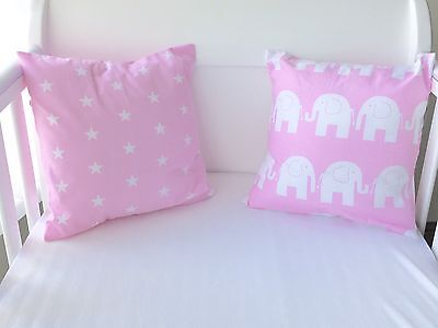 Handmade Cushion Cover Pink Stars Girls 💗⭐️