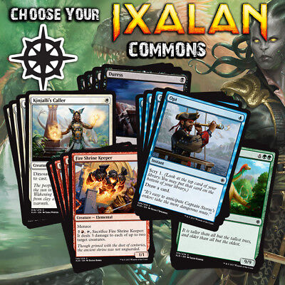 Choose Your Ixalan Common Playset (x4 cards) - XLN MTG Cards M/NM