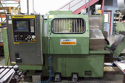 1986 Daewoo Puma 10 CNC Lathe With Chip Conveyor