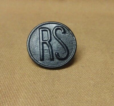 WWI US Army Recruiting Service Collar Disk