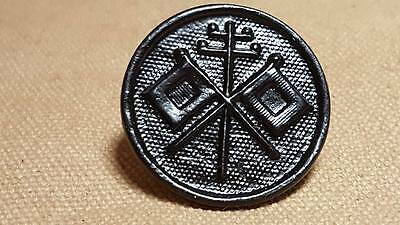 WWI  Field Telephone Battalion STYLE 2 Collar Disk