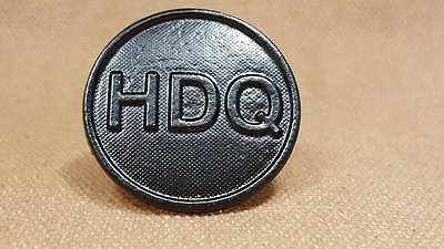 WWI HDQ Collar Disk