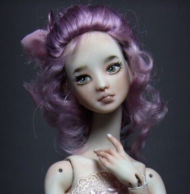Custom Ordered Porcelain BJD Doll by Forgotten Hearts - Aiko