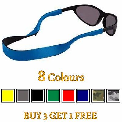 Neoprene Glasses Lanyard Sunglasses Neck Cord Chain Strap Swimming Gym Sports UK