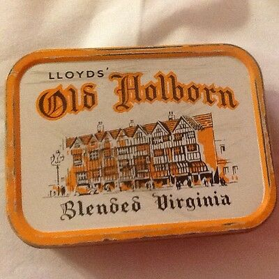 Lloyds Old Holborn Blended Virginia Tobacco Tin 2Oz