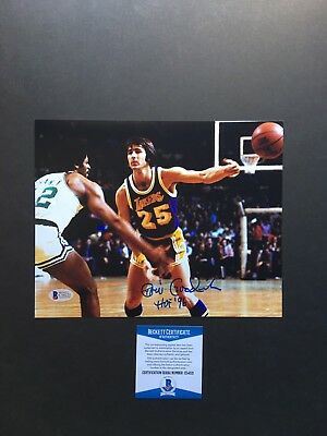 a2127368335 Gail Goodrich signed autographed Los Angeles Lakers 8x10 photo Beckett BAS  Cert
