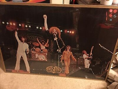 BOSTON the band ORIGINAL Poster- concert style!