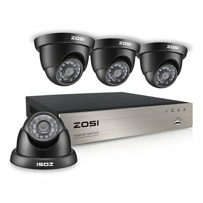 Indoor Outdoor 1080P DVR Kit HD IR CUT Security Camera System WIFI CCTV