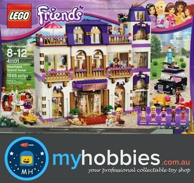 LEGO 41101  Friends Heartlake Grand Hotel Brand New and Sealed