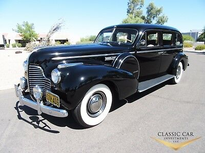 1940 Buick Series 91 Limited Touring Sedan 1940 Buick Series 91 Limited Touring Sedan - Beautiful All Original Survivor!