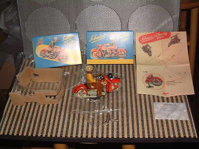 Schuco Nos, Ltd Edition, Replica Motoracer 1005 Charly Clockwork Motorcycle! Nib