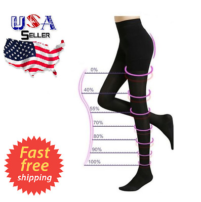 Pantyhose Compression  Stockings Support Fashion Women High Leg Slimming Hip Up