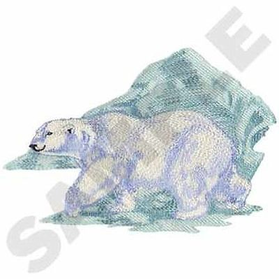 """Polar Bear Embroidered Patch 10.2""""x 6.8"""""""