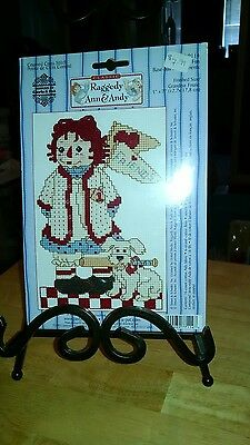New Raggedy Ann and Andy cross stitch