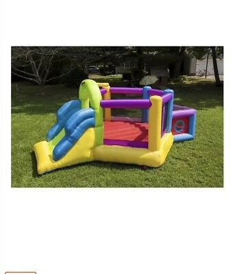 Super Fort Sport Bounce Jump Slide Infant Kids Play Outdoor Fun Castle Brand NEW