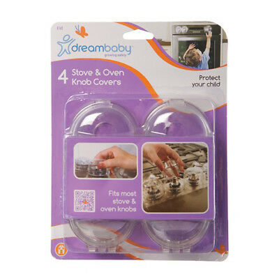 F141 Dreambaby Safety Stove Knob Covers (4-Pack)