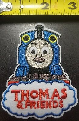 "Thomas the Train 3.75""x3"" Iron/Sew On Embroidred Patch~Free Shipping From USA~"