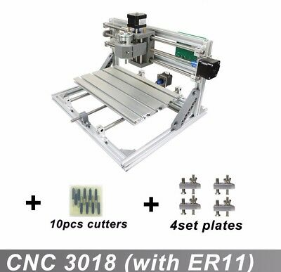 CNC 3018+ 5500mw Laser GRBL Control, 3Axis pcb Wood Engraver Milling Machine