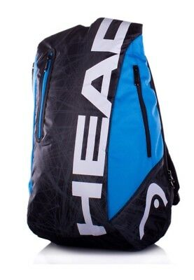 Head Tour Team Backpack Very Strong Bag Black/Blue RRP £35