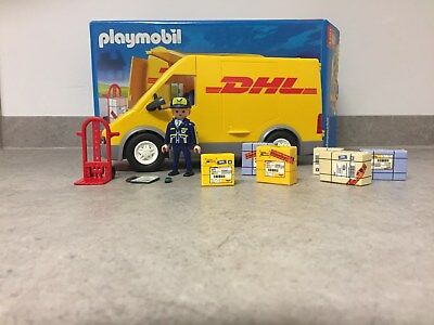playmobil post dhl auto 4401 paketdienst brieftr ger. Black Bedroom Furniture Sets. Home Design Ideas