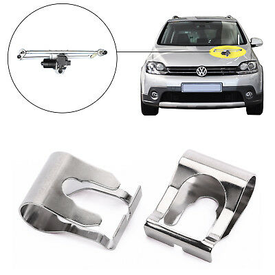 WINDSCREEN WIPER MOTOR LINKAGE LINK REPAIR CLIP KIT STRONG x2