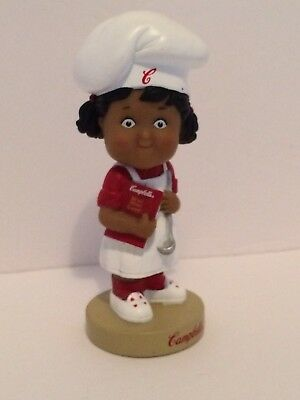 (2002) Campbells Soup - MIB Collectible Bobblehead Girl