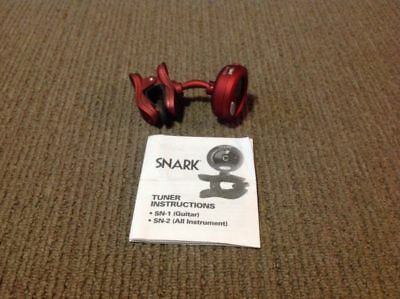 Snark Tuner Instructions SN-2 (All Instrument)