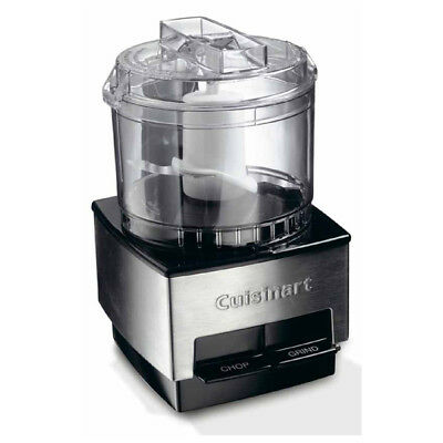 Cuisinart DLC1SSRU Mini Food Processor Chopper Silver 600ml 5 Year Guarantee